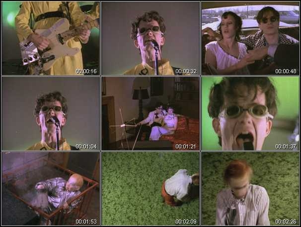 Devo - (I Can't Get No) Satisfaction - Video stills (haringmatrix.us)