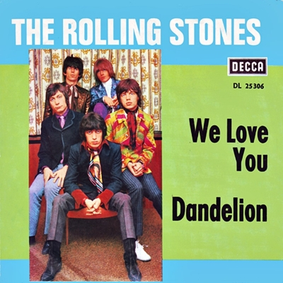 The Rolling Stones - We Love You (dutchcharts.nl)