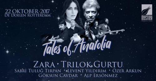 Tales Of Anatolia, 22-10-2017 - Aankondiging (facebook.com)