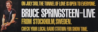 Bruce Springsteen - Tunnel Of Love Tour - Stockholm (backstageauctions.com)