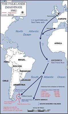 Falklandoorlog Kaart (wikipedia.org)