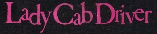 Prince - Lady Cab Driver lettering