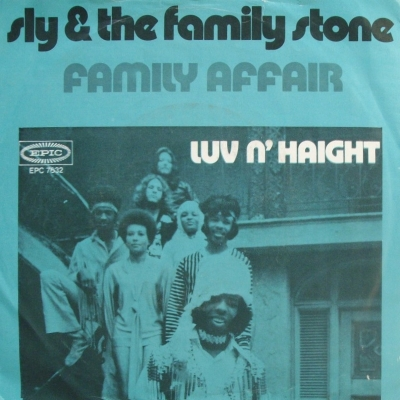 Sly & The Family Stone - Family Affair (single) (45cat.com)