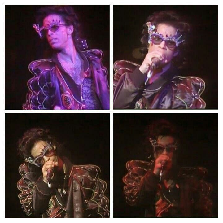 Image result for Prince Bob george 1988 lovesexy tour