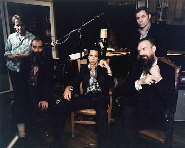Nick Cave & The Bad Seeds 2012 (nickcave.com)