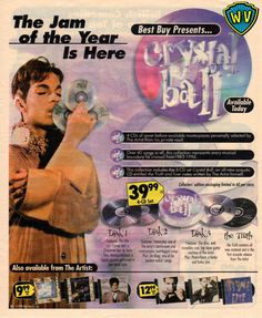 Prince - Crystal Ball - Best Buy ad (pinterest.com)