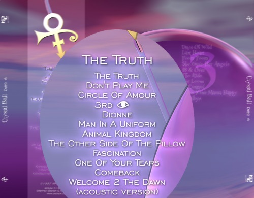 Prince - The Truth CD Square Back (cystalballcd.com)