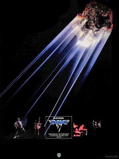 Van Halen - Van Halen - Platinum Billboard advertentie 1978 (vhnd.com)