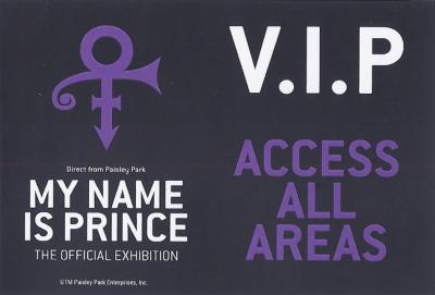 My Name Is Prince - VIP Ticket (apoplife.nl)