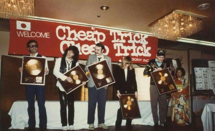 Cheap Trick - At Budokan - Gold record - Tokyo 1979 (bunecarlos.com)