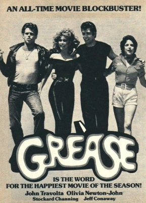 Grease - Advert (pinterest.com)