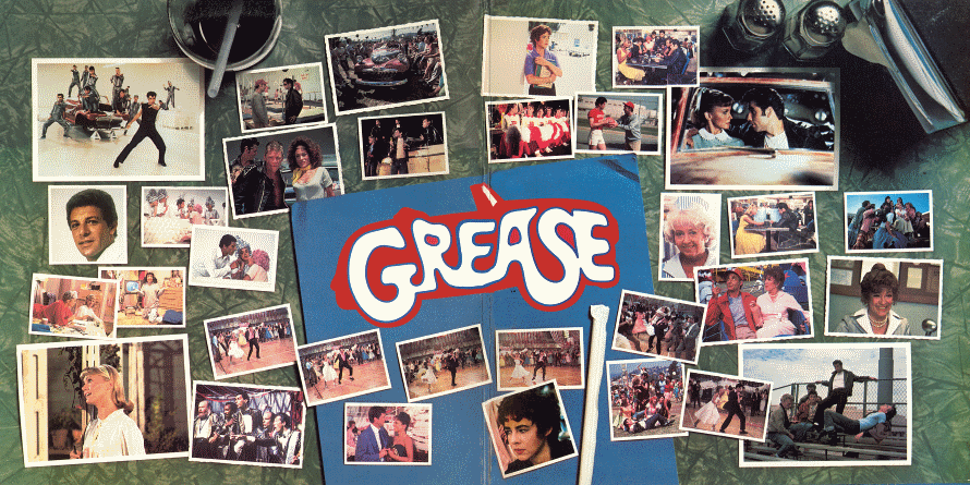 Grease - Gatefold (vinylalbumcovers.com)