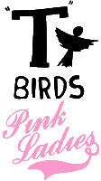 T Birds & Pink Ladies logos (grease.wikia.com)