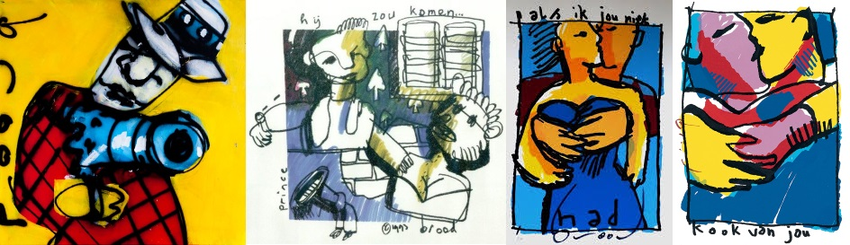 Herman Brood - Schilderijen (pinterest.com)