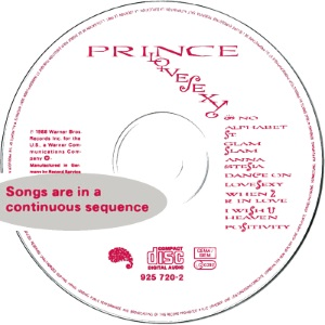 Prince - Lovesexy - CD (apoplife.nl)