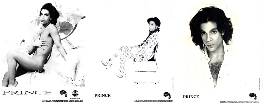 Prince - Lovesexy promo material (lansuresmusicparapernalia.blogspot)