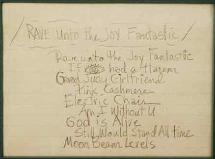Prince - Rave Unto The Joy Fantastic - 1988 configuratie (prince.org)