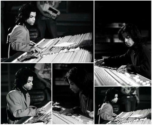 Prince in Paisley Park Studios 1988 (prince.org)