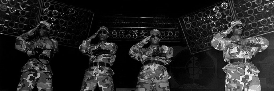 Public Enemy - S1W's (gettyimages.com)