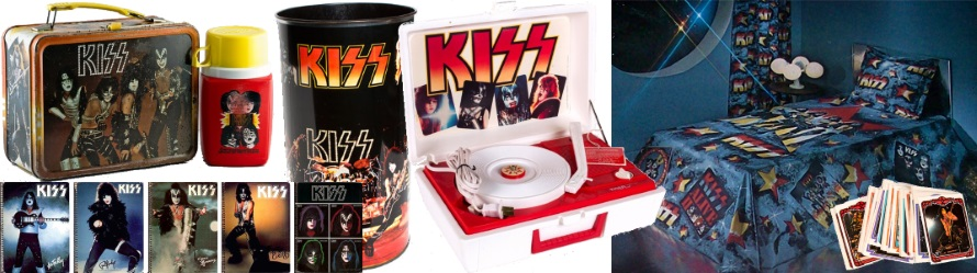 Kiss - Merchandising 1978 (kissmerchandising.com/pinterest.com/apoplife.nl)