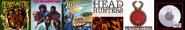 The Headhunters - albums (discogs.com/apoplife.nl)
