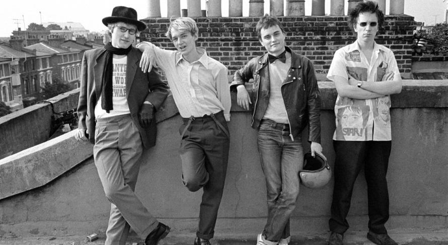 Public Image Ltd - Op het dak van John Lydon's huis, 1978 (Dennis Morris, 1978)