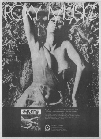 Roxy Music - Stranded - Reclame (superseventies.com)
