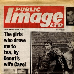 Public Image Ltd - Public Image - Single (johnlydon.com)