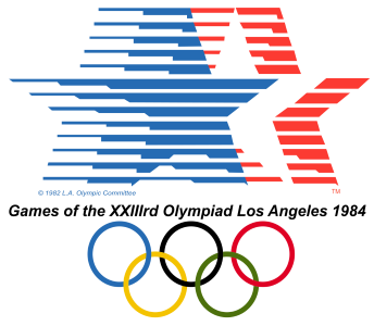 1984 Summer Olympics logo (wikipedia.org)