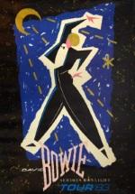 David Bowie - Serious Moonlight - Tour poster (eil.com)