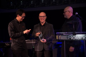 Thomas Dolby receives Roland Lifetime Achievement Award 2018 (rolandus.com)
