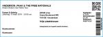 Anderson .Paak, 09-03-2019, concertkaartje (apoplife.nl)
