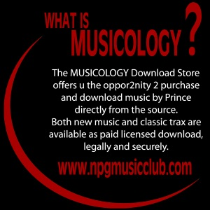 Prince - NPG Music Club - What Is Musicology (apoplife.nl)