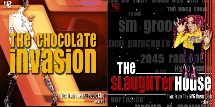 Prince - The Chocolate Invasion & The Slaughterhouse - Original album covers (apoplife.nl)
