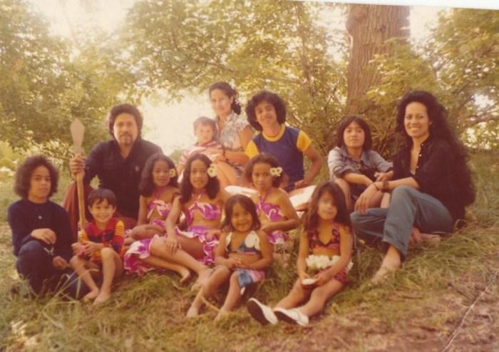 The Jets - An early family photo (Moana Wolfgramm-Feinga)