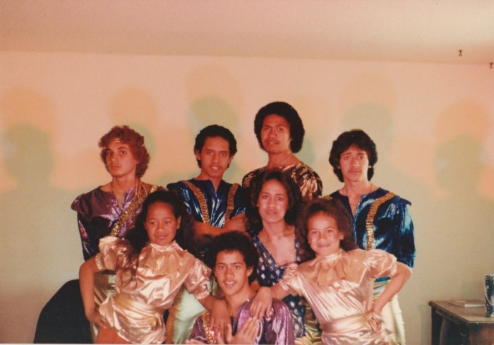 The Jets - The early days when their mother made all the group's costumes (Moana Wolfgramm-Feinga)