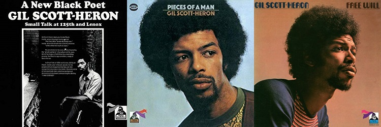 Gil Scott-Heron - Small Talk At 125th And Lenox, Pieces Of A Man, Free Will (amazon.com/apoplife.nl)