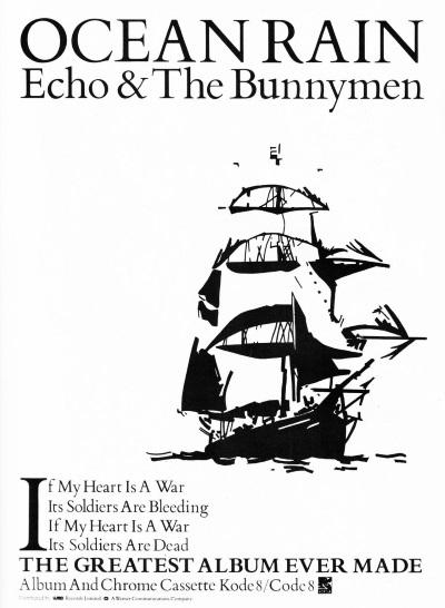 Echo & The Bunnymen - Ocean Rain - Ad (twitter.com)