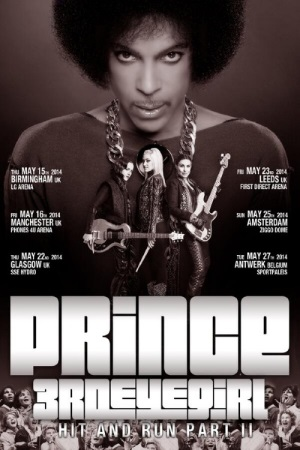 Prince - Initiële aankondiging Hit And Run Part II Tour (princevault.com)