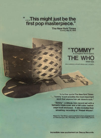 The Who - Tommy - Reclame (pinterest.com)