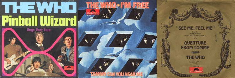 The Who - Tommy - Singles (discogs.com)