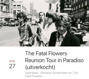 The Fatal Flowers – Reunion Tour – Paradiso 06/27/2019 (facebook.com)