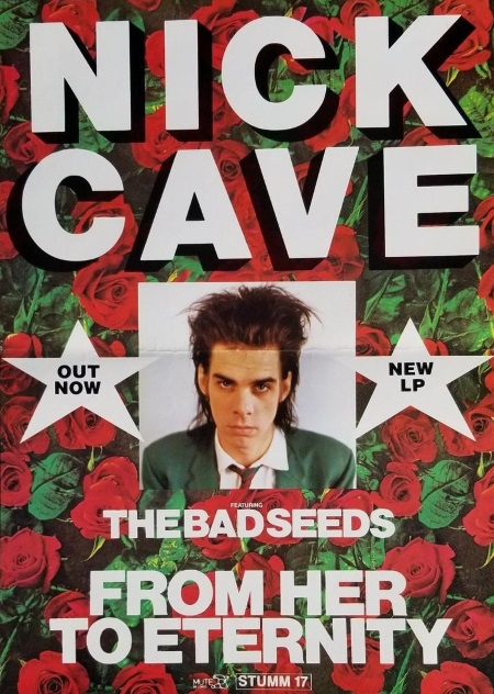 Nick Cave - From Her To Eternity - Poster (worthpoint.com)