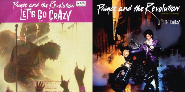 Prince And The Revolution - Let's Go Crazy (single and maxi-single) (rockitpoole.com/back2black.nl)