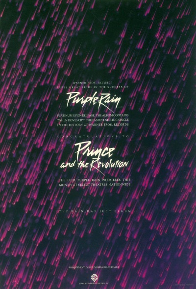 Prince And The Revolution - Purple Rain - Ad July 1984 (prince.org)
