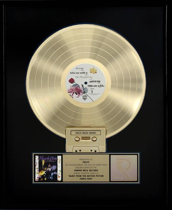 Prince And The Revolution - Purple Rain - Gold award (julienslive.com)