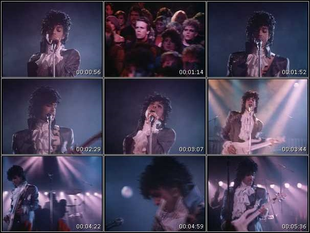 Prince And The Revolution - Purple Rain - Video stills (hq-music-videos.com)