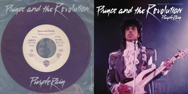 Prince And The Revolution - Purple Rain (single and maxi-single) (twitter.com/bilborecords.be)