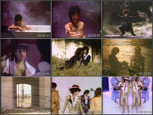 Prince And The Revolution - When Doves Cry - Video stills (hq-music-videos.com)