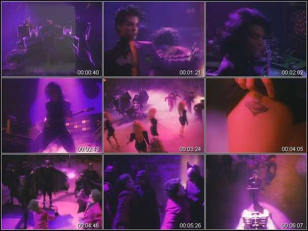 Prince - Batdance - Video stills (hq-music-videos.com)